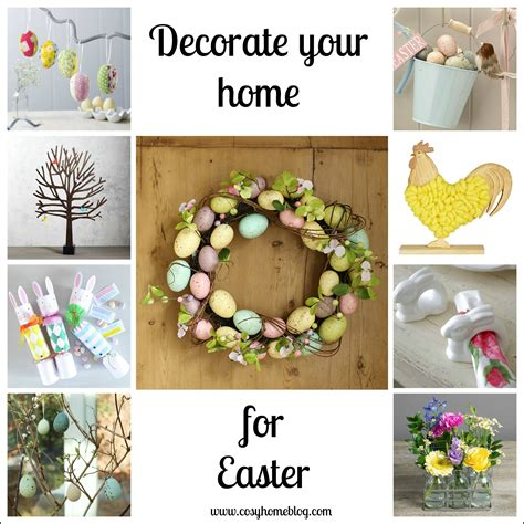 seasonal home decorations 35 ways to decorate for easter entertaining ideas party