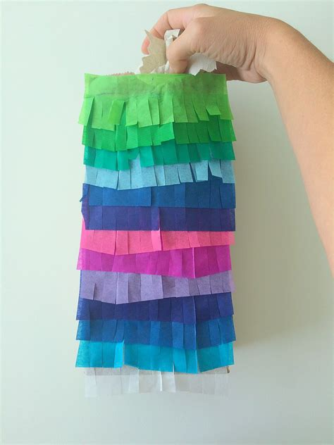 how to make a paper bag pinata finding silver linings