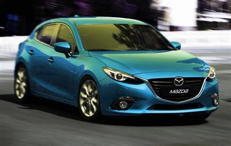 mazda 3 colors 2014 mazda3 imagined in more colors autoevolution