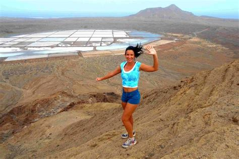 Cape Verde Birth Records Model Elaine Harris On Gruelling Charity Marathon