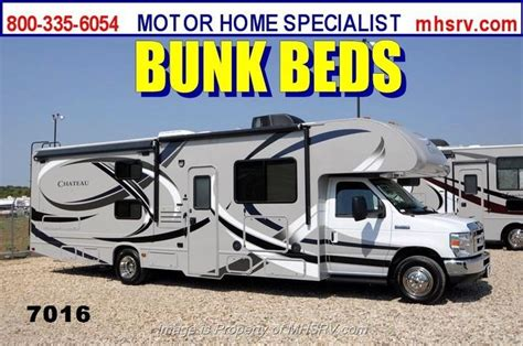 new 2014 thor motor coach chateau 31a bunk house rv w