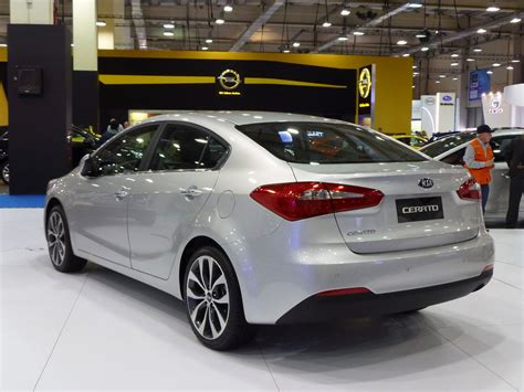Www Kia Cerato 2013 Kia Cerato At The Santiago Motorshow In Chile Photo
