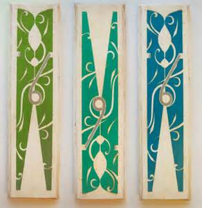 laundry room clothespin copycat crafts