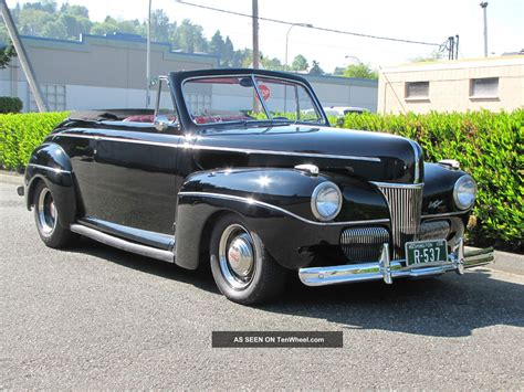 1941 ford convertible ford mercury 1941 convertible