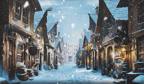 harry potter winter at winter via weheartit harry potter photo 36302692 fanpop
