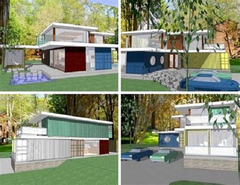 bloombety diy cargo and shipping container home plans