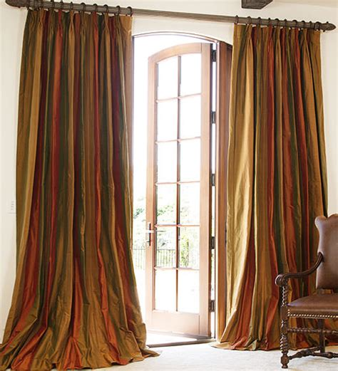 silk drape drapestyle the custom drapes house and garden called