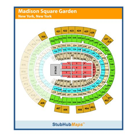 Square Garden Ticketmaster by Concerts Square Garden New York City Msg Autos Post