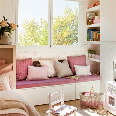 decorar cuartos juegos habitaciones infantiles con dormitorio y zona de juegos