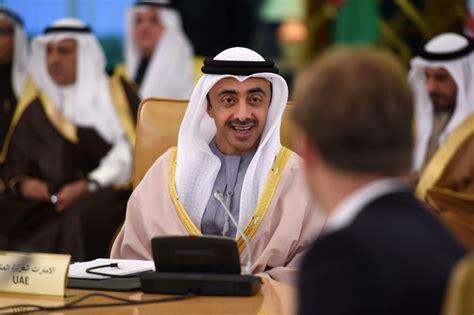 emirates uae united arab emirates foreign minister defends trump s