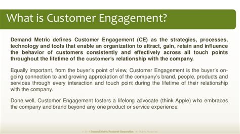 customer profile template demand metric customer engagement plan methodology