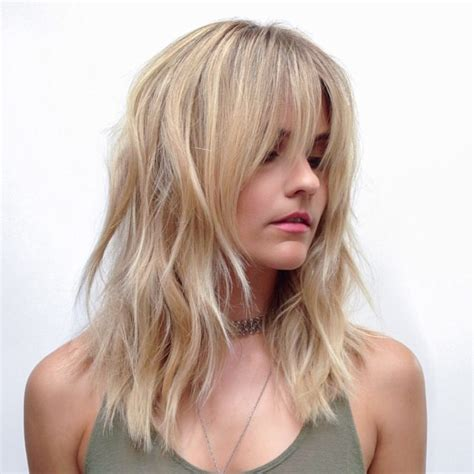 hairstyles medium blonde fine hair 22 best medium length hairstyles for thin fine hair