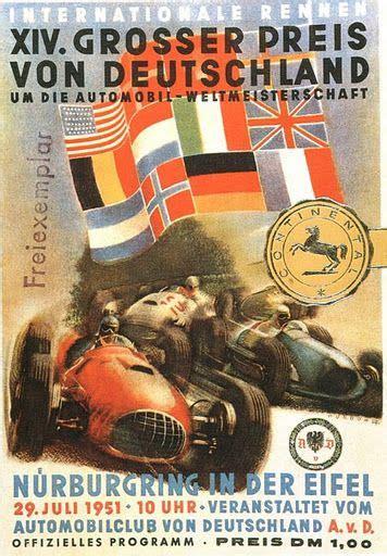 Motorrad Nummernschild Größe by Alemanha 1951 Race Posters Pinterest Deutschland