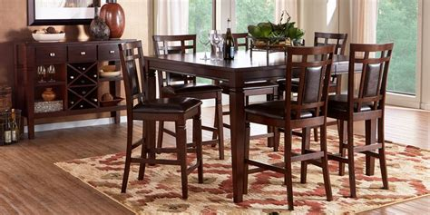 counter height dining room table sets  sale