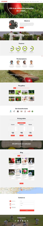 cricket templates for blogger cricket joomla template