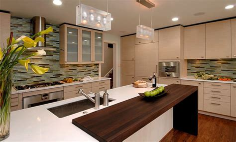 Contemporary Kitchen Countertops Wenge Wood Countertop By Grothouse Contemporary