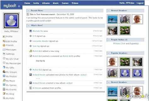 html themes like facebook download free socialnetwork website like facebook