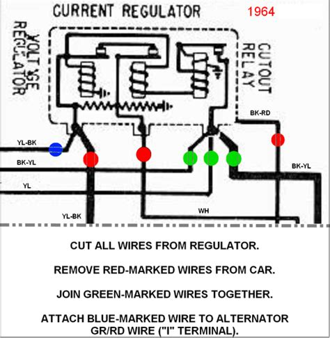 1964 ford falcon generator diagram 34 wiring diagram