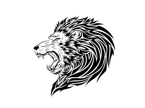 angry lion tattoo sketch in 2017 real photo pictures
