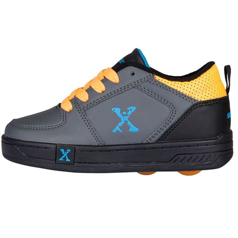 wheeled shoes for sidewalk sport boys lace up skate wheeled