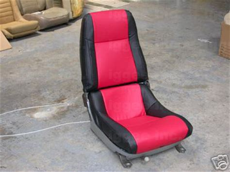 c3 corvette seats chevy corvette c3 1979 1983 leather like seat cover ebay
