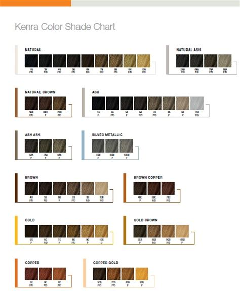what color line does regis salons use kenra color shade chart confessions of a