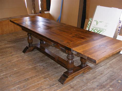 dining with leaf extension draw leaf extension dining dark pine finish with 2 inch