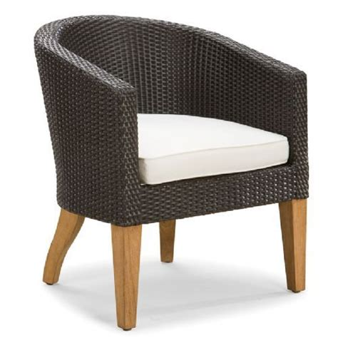 wicker barrel dining chair venture replacement cushions spinnaker d collection