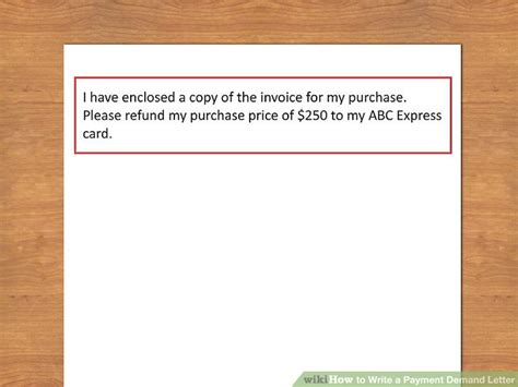 Demand Letter Prior To Small Claims how to write a payment demand letter 10 steps with pictures