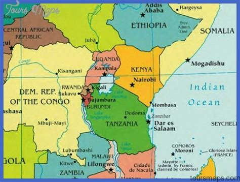 rwanda map rwanda map toursmaps