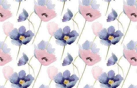 Rose quartz and serenity poppy wallpaper murals wallpaper