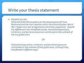 Thesis Statement Exle For Essays by How To Find A Thesis Statement In An Essay