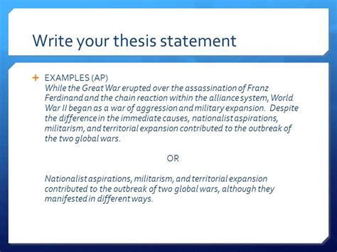 examples  thesis statement   introduction speech