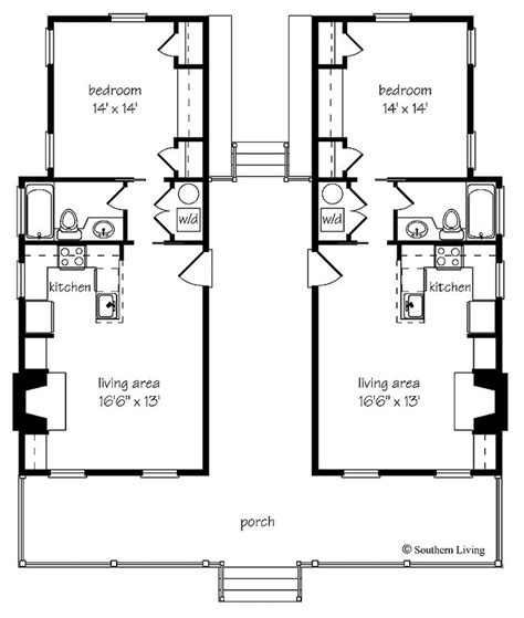 guest house floor plans small 32 best duplex plans images on pinterest