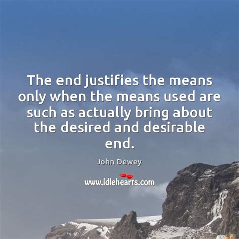 The End Justifies The Means Essay by Smile Is The Lighting System Of The