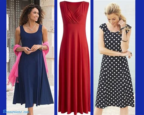 travel clothes for women over 50 knit jersey dresses travel wear for women over 40 or 50