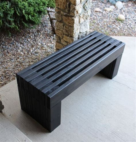wood bench designs plans outdoor wood bench plans modern slat top outdoor wood