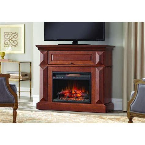 42 Electric Fireplace by Home Decorators Collection Coleridge 42 In Mantel Console