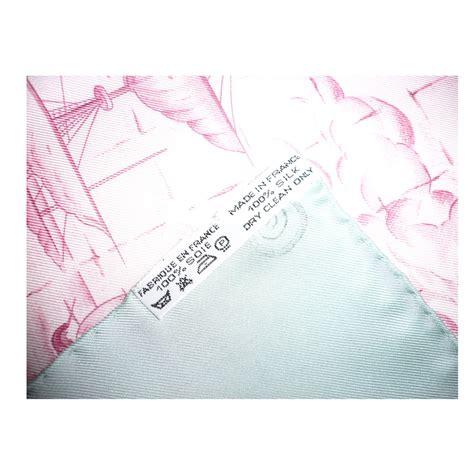 azulejo joli foulards herm 232 s carr 233 quot azulejos quot soie rose ref 40067