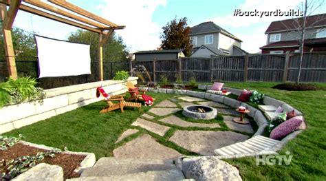 Backyard Builds by Backyard Builds Outdoor Theatre Hgtv Ca