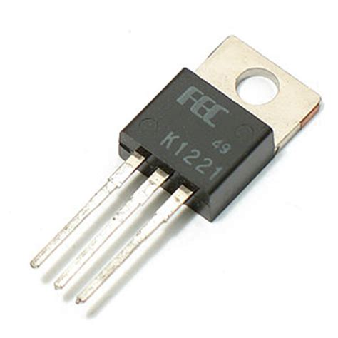 transistor mosfet electronic goldmine 2sk1221 n channel silicon power mosfet transistor