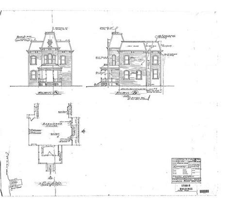 psycho house plans pin by supernatural museum on bates motel psycho house pinterest