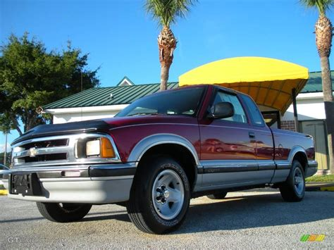 1996 chevrolet s10 1996 medium metallic chevrolet s10 ls extended cab