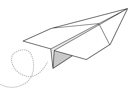 Aeroplane With Paper - make a paper aeroplane in 6 easy steps