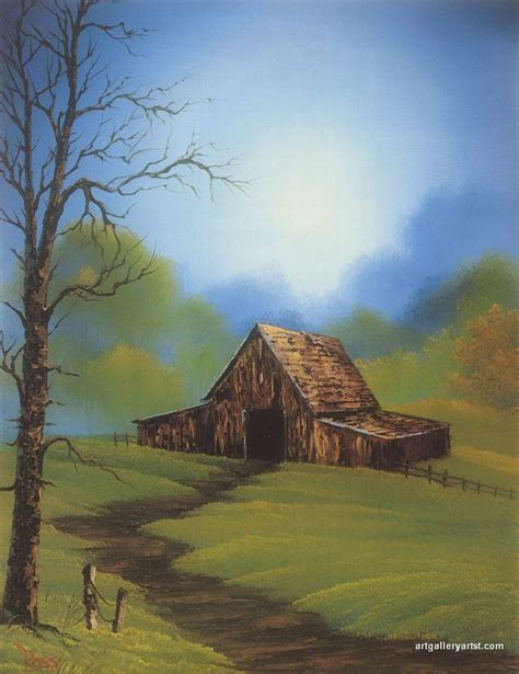bob ross painting a barn best 25 bob ross paintings ideas on