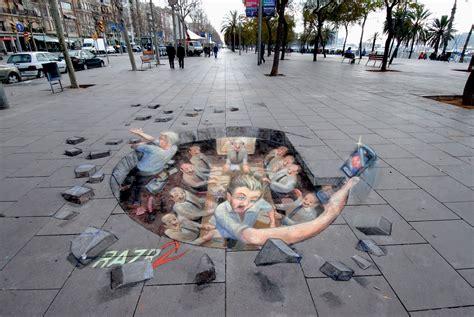 3d paintings 3d street art
