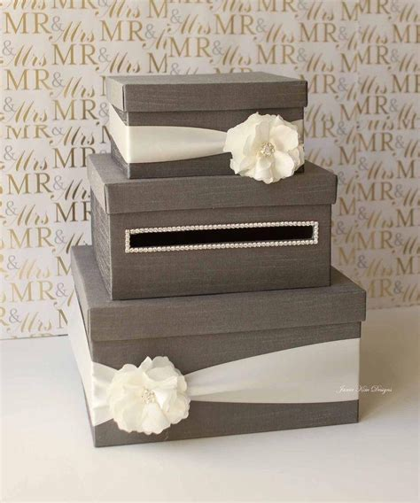 Gift Card Box Ideas - new box for gift cards at wedding reception best 25 wedding card boxes ideas on