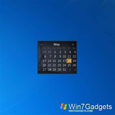 windows live calendar windows 7 desktop gadget