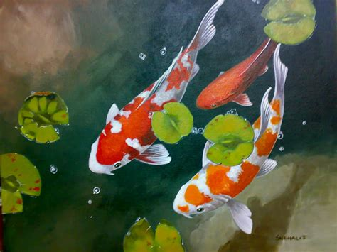 Mouse Pad Ponds Thn 2008 related keywords suggestions for koi acrylic paintings