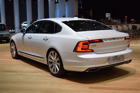 volvo s volvo s90 sedan looking sharp on geneva floors